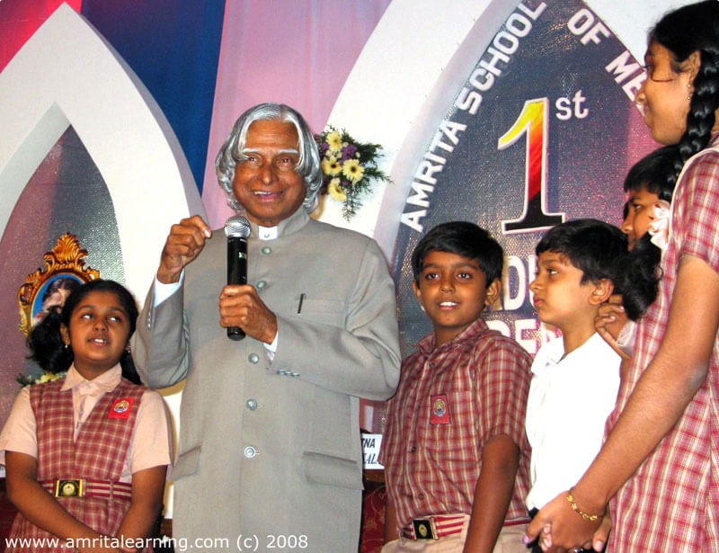 Dr A.P.J. Abdul Kalam, inaugurated E-Learning Network