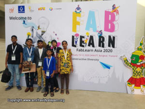 Our Students at FabLearn Asia 2020 Conference in Bangkok