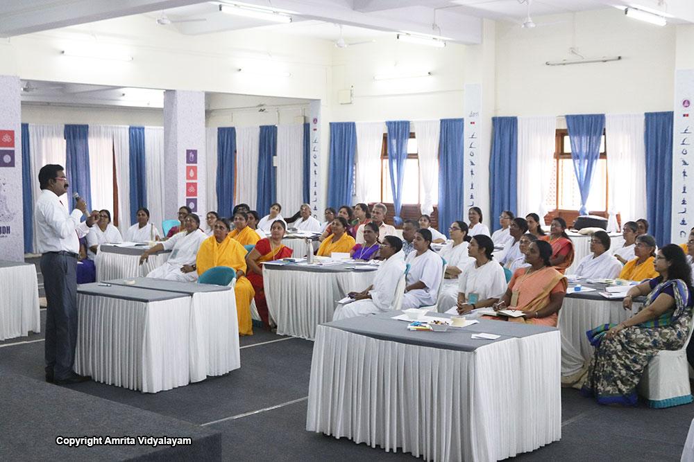 Conducted at Amritapuri