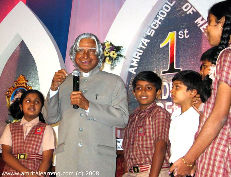 Dr A.P.J Abdul Kalam Inagurated E-Learning Network