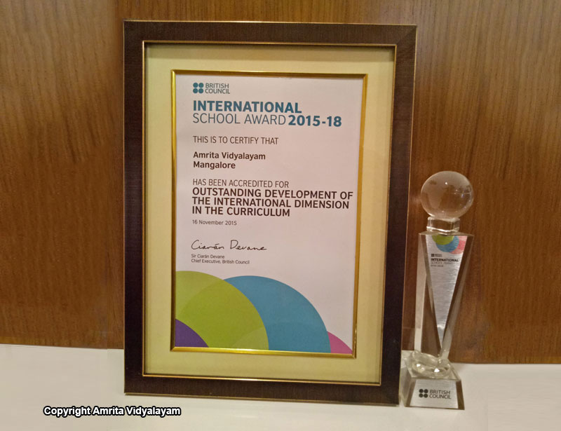 International School Award 15-18