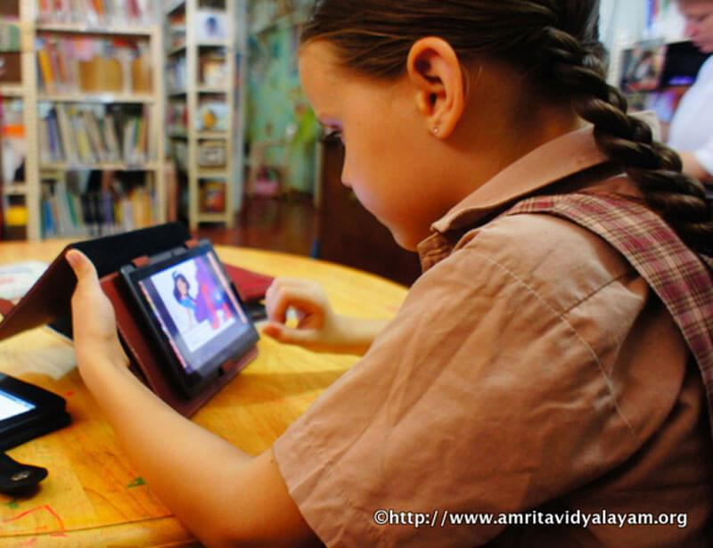 Tablet Enabled Education in Amrita Vidyalayams